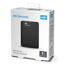 HD 1 TB EXTERNO WESTER ELEMENT